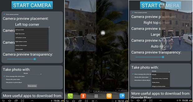 Spy Camera HD - Spy App for Android