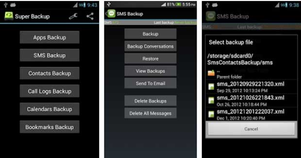 Super Backup - Best Backup Apps for Android