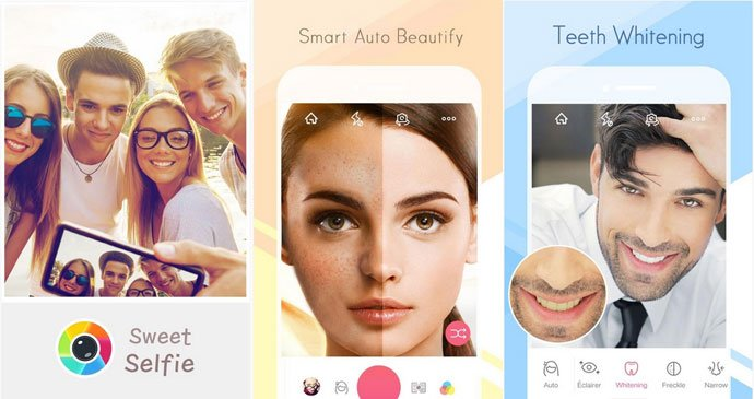 Sweet Selfie - Selfie Camera App