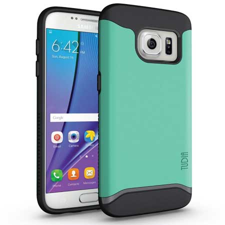 TUDIA Slim-Fit MERGE Dual Layer Protective Case for Samsung Galaxy S7