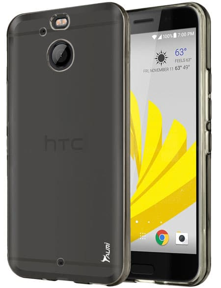 Tauri Slim Thin Clear Flexible Case Cover for HTC Bolt
