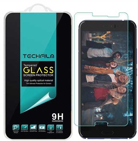 TechFilm HTC U11 / U 11 Tempered Glass Screen Protector