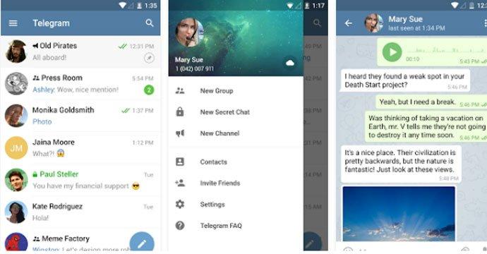Telegram - WhatsApp Alternative Secure