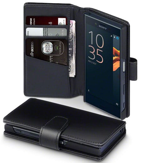Terrapin Sony Xperia X Compact Leather Case Cover