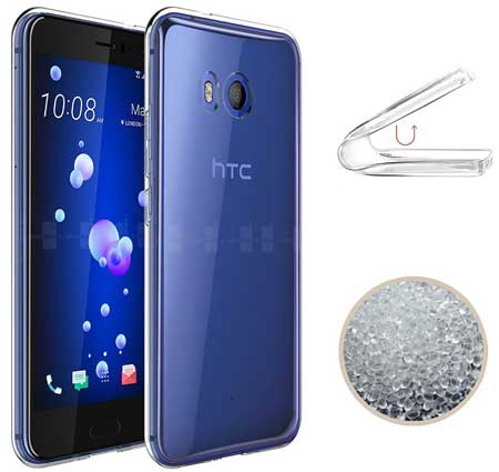 TopACE Ultra-Thin Transparent Case Cover for HTC U 11