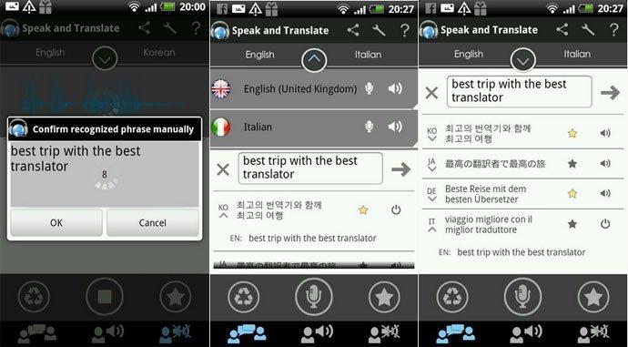 Translator Speake and Translate