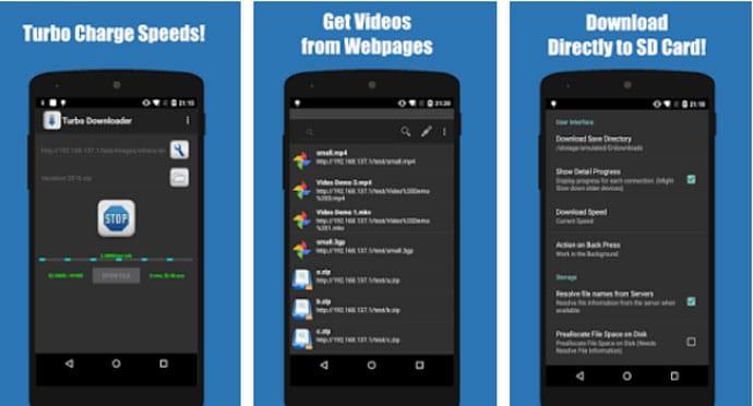 Turbo Downloader - Android Downloader App