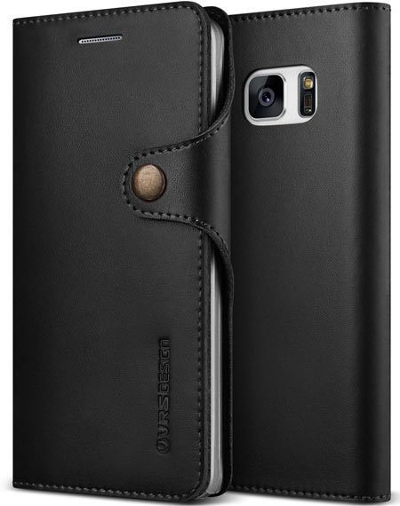 Best Samsung Galaxy Note7 Leather Cover by Verus VRS Design