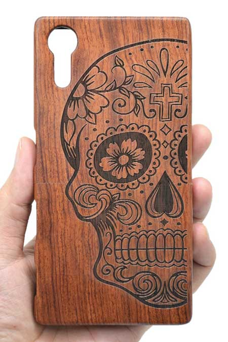 VolksRose SONY Xperia XZs Wooden Case