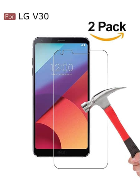 Best LG V30 Screen Protector from Wellci