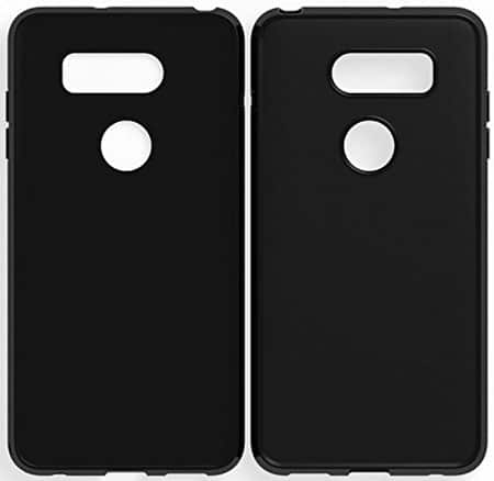Wellci Flexible TPU Gel Rubber Soft Skin Silicone Protective Case Cover For LG V30