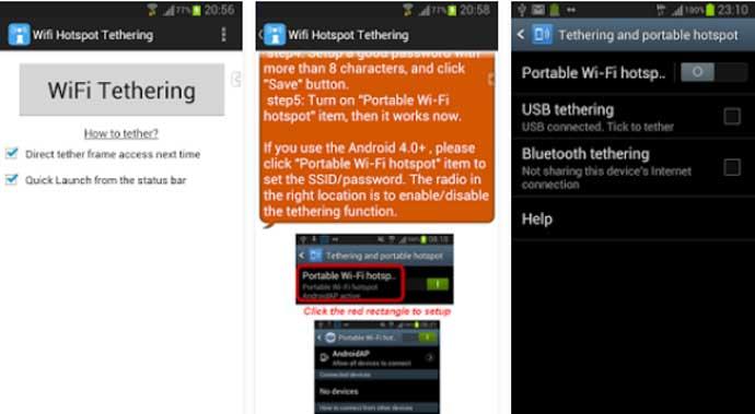 Wifi Tethering - Free Tethering App