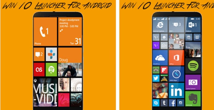 Win 10 Launcher for Android