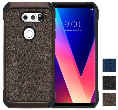 YSAGi Ultra Slim Thin Dual Layer LG V30 Case