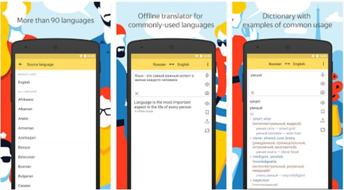 Yandex. Translate - Android Translation App