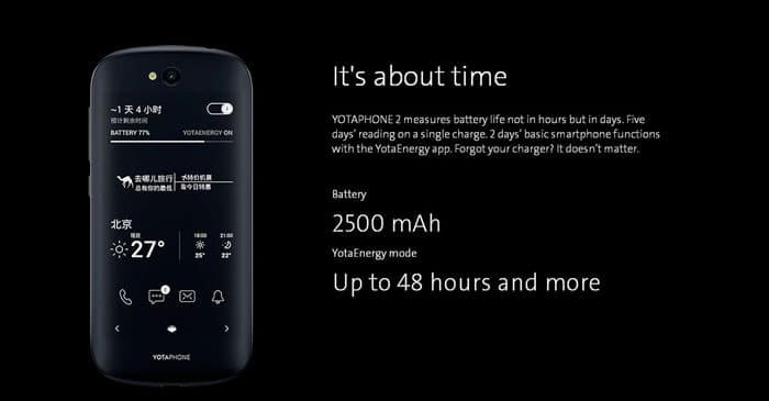 Yotaphone 2 Long Life Battery
