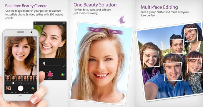 You Cam Perfect - Best Selfie Camera Apps for Android
