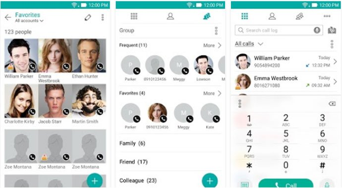 ZenUI Dialer & Contacts - Android Dialer App