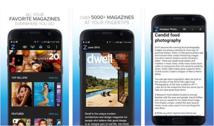 Zinio - Magazine App for Android