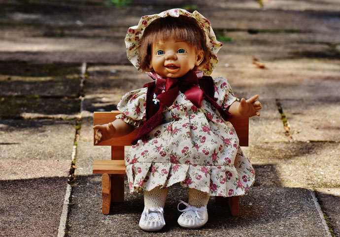 Beautiful Doll Picture