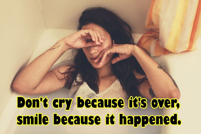 dont cry sad quotes images