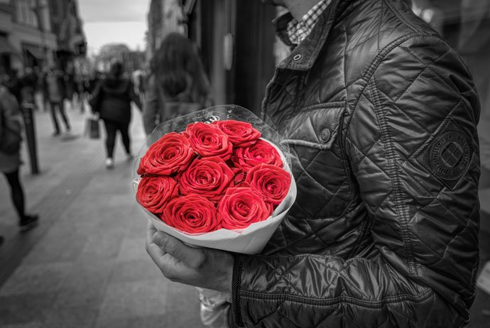 Downlaod Good Evening Images with Red Rose free