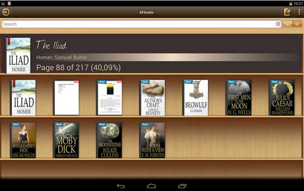 5 Best Ebook Reader Apps For Android Phones And Tablets 2017