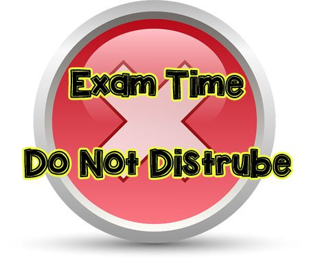 exam time, do not distrube whatsapp dp