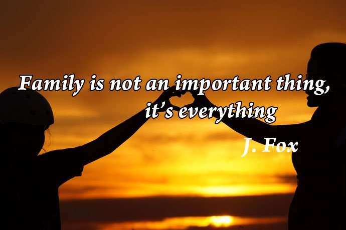 Family is not an important