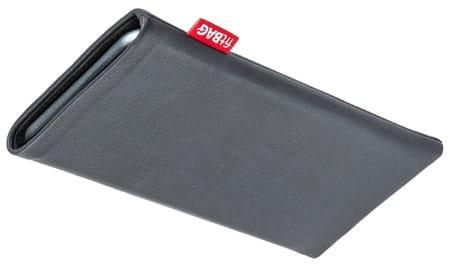 fitBAG Beat Gray custom tailored sleeve for Sony Xperia XZ