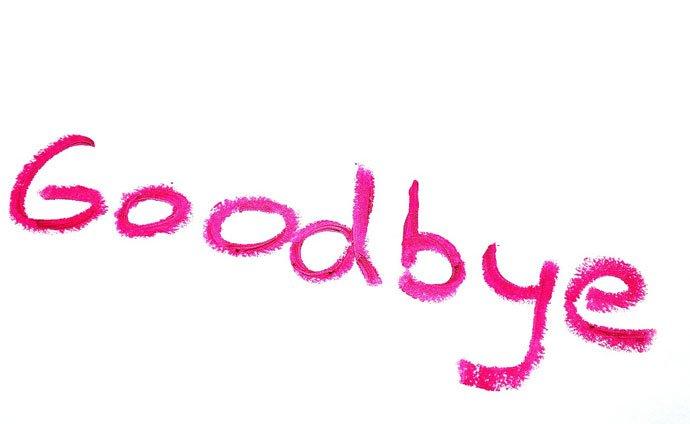 good bye Love Failure Image