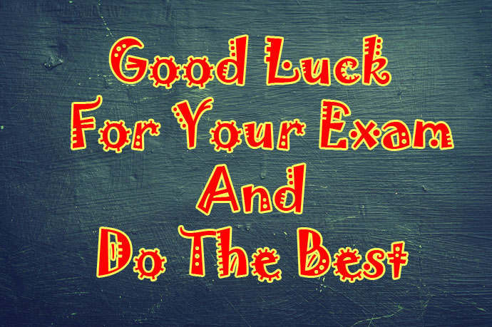 good luck for your exam WhatsApp display picture