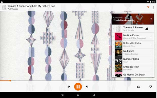 Google Play Music - free music player apps for android