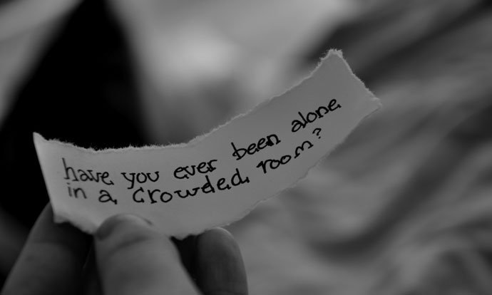 have you ever been alone sad quote