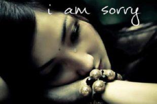 i am sorry sad quote image