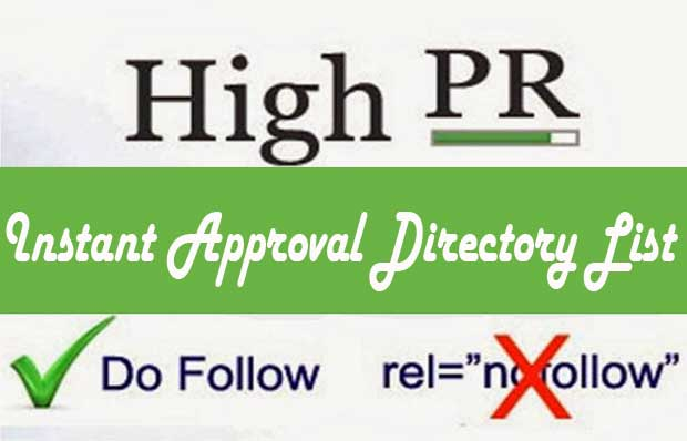 instant approval directory submission list