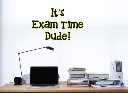 It's Exam Time WhatsApp Dp