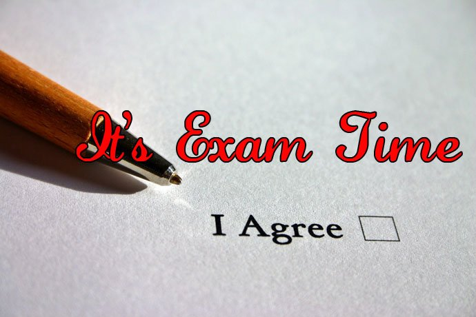 Its exam time facebook profile picture