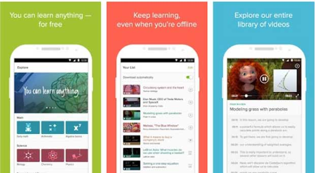 Khan Academy - Educational Android App