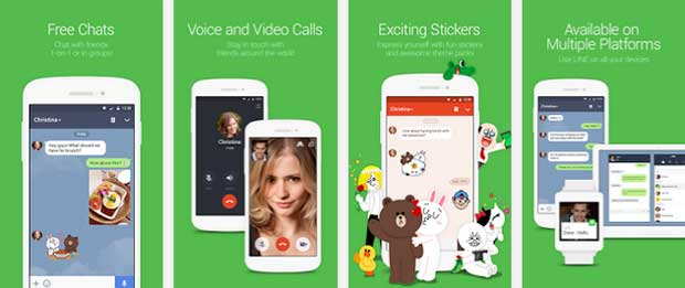 Line - free messenger apps for android