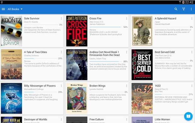 Moon+ Reader - Free eBook Reader app for Android