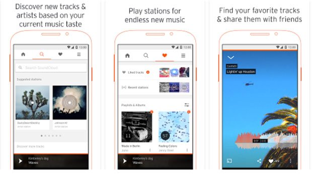 SoundCloud- Best Free Music App for Android