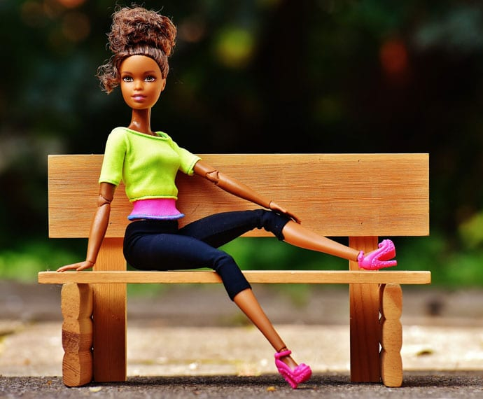 stylish girl doll image
