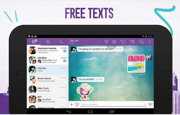 Viber - Free Facetime App for Android