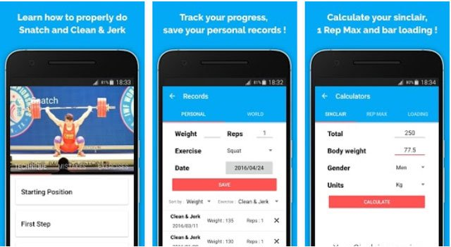 Weightlifting - Best Weightlifting App