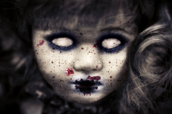 zombie girls doll